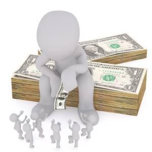 Podział majątku - osoba decydujaca o rozdaniu pieniędzy